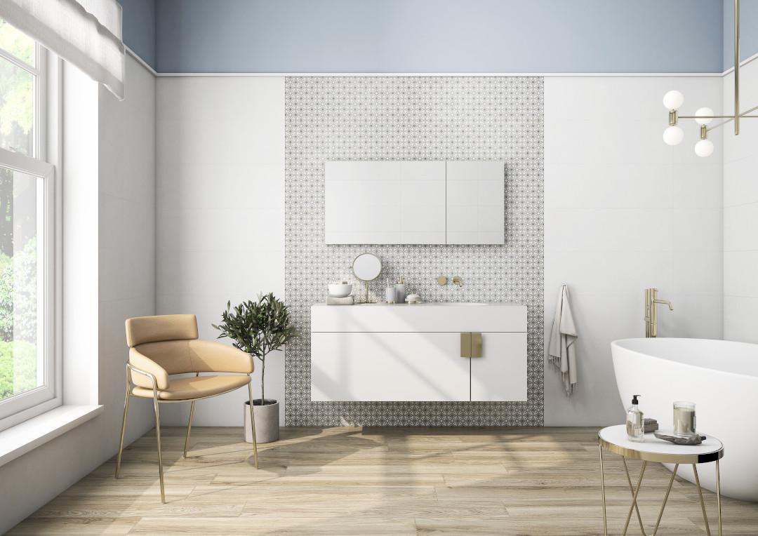 Revestimientos y pavimentos para el baño