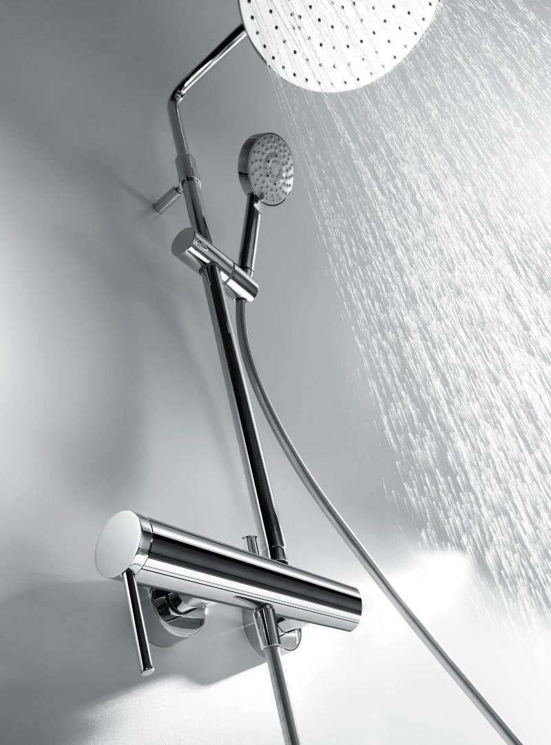 Columna de ducha con termostato