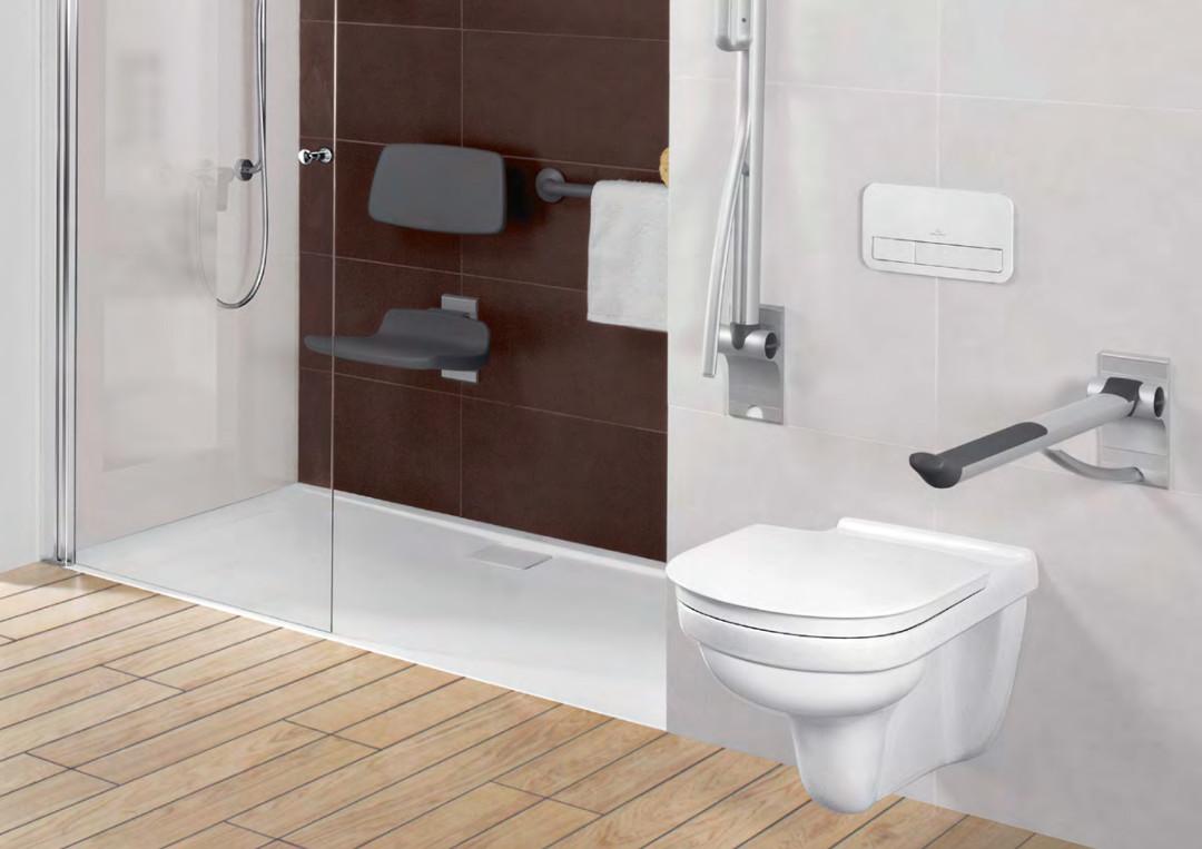 Baño accesible y sin barreras