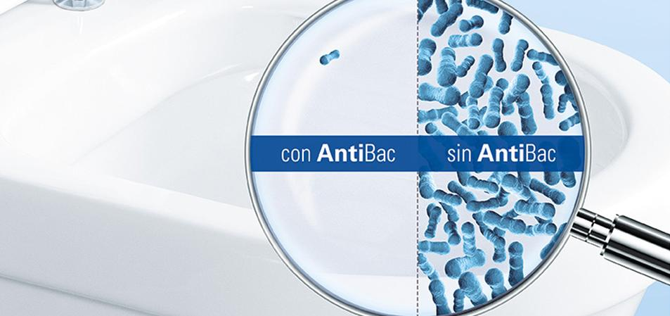 ANTIBAC Protección duradera contra las bacterias