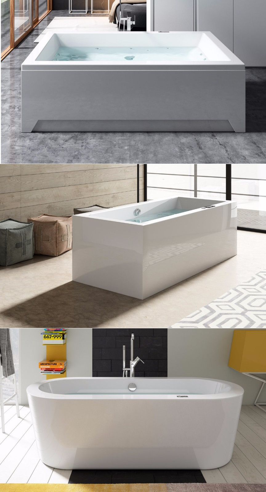 Bañeras de marca hidronatur