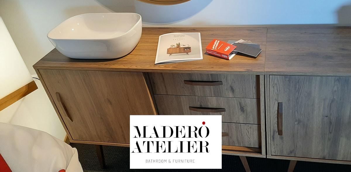 Mueble de baño marca Maderó Atelier