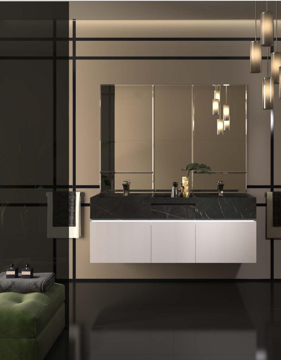 Mueble de baño e iluminación