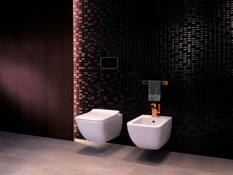 Sanitarios de baño bidet y WC