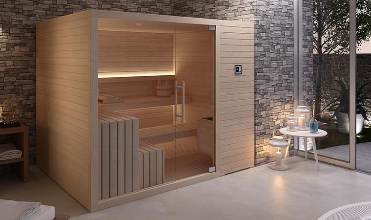 Sauna marca Jacuzzy