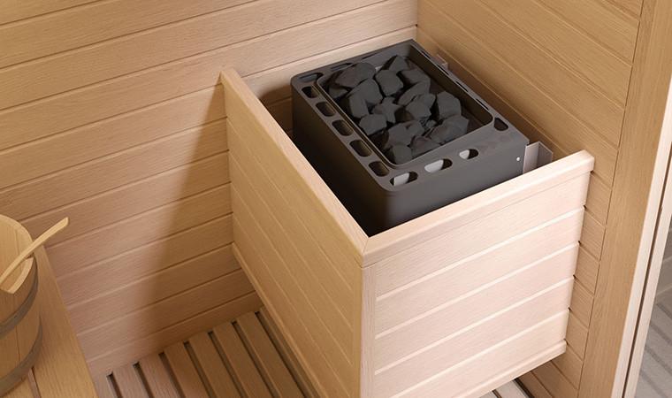 Sauna imagen de interior marca Jacuzzy