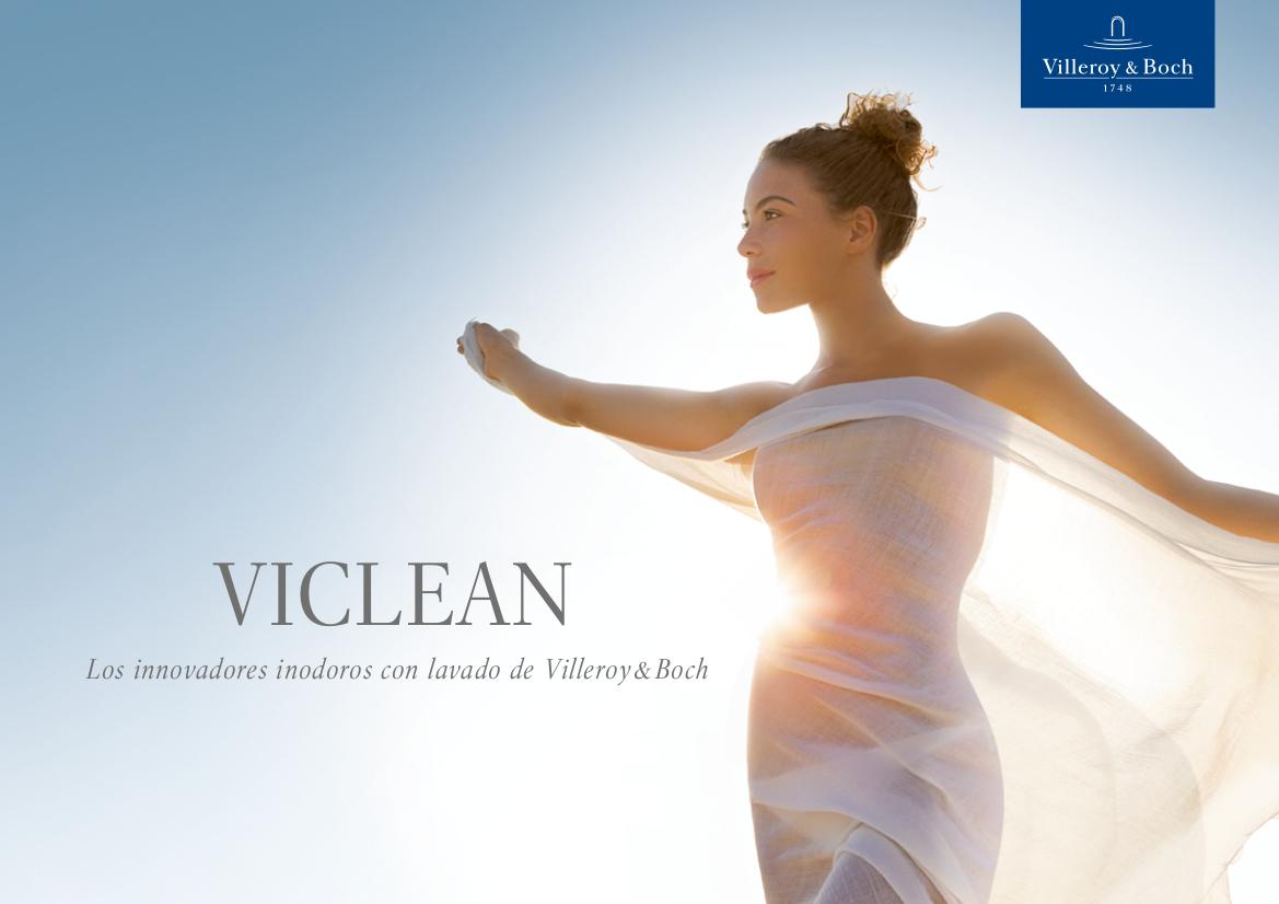 Inodoros con lavado VICLEAN de Villeroy & Boch