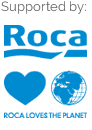 Logo de la fundación we are water de Roca