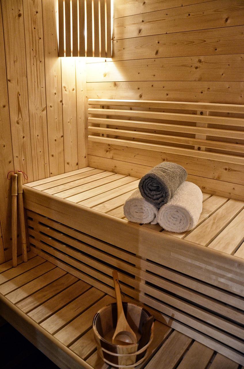 Sauna imagen del interior