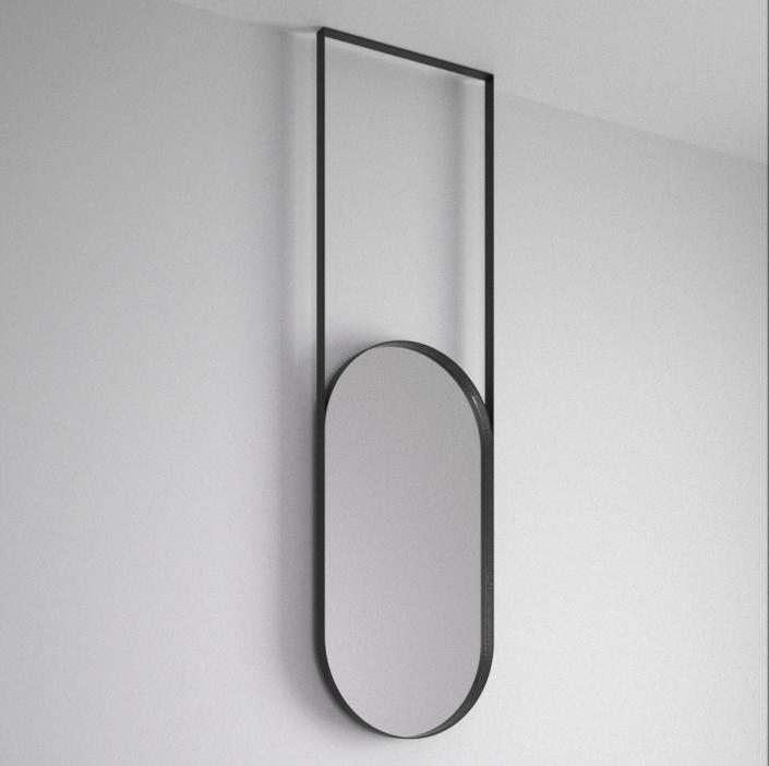 Espejo Ovalado para baño